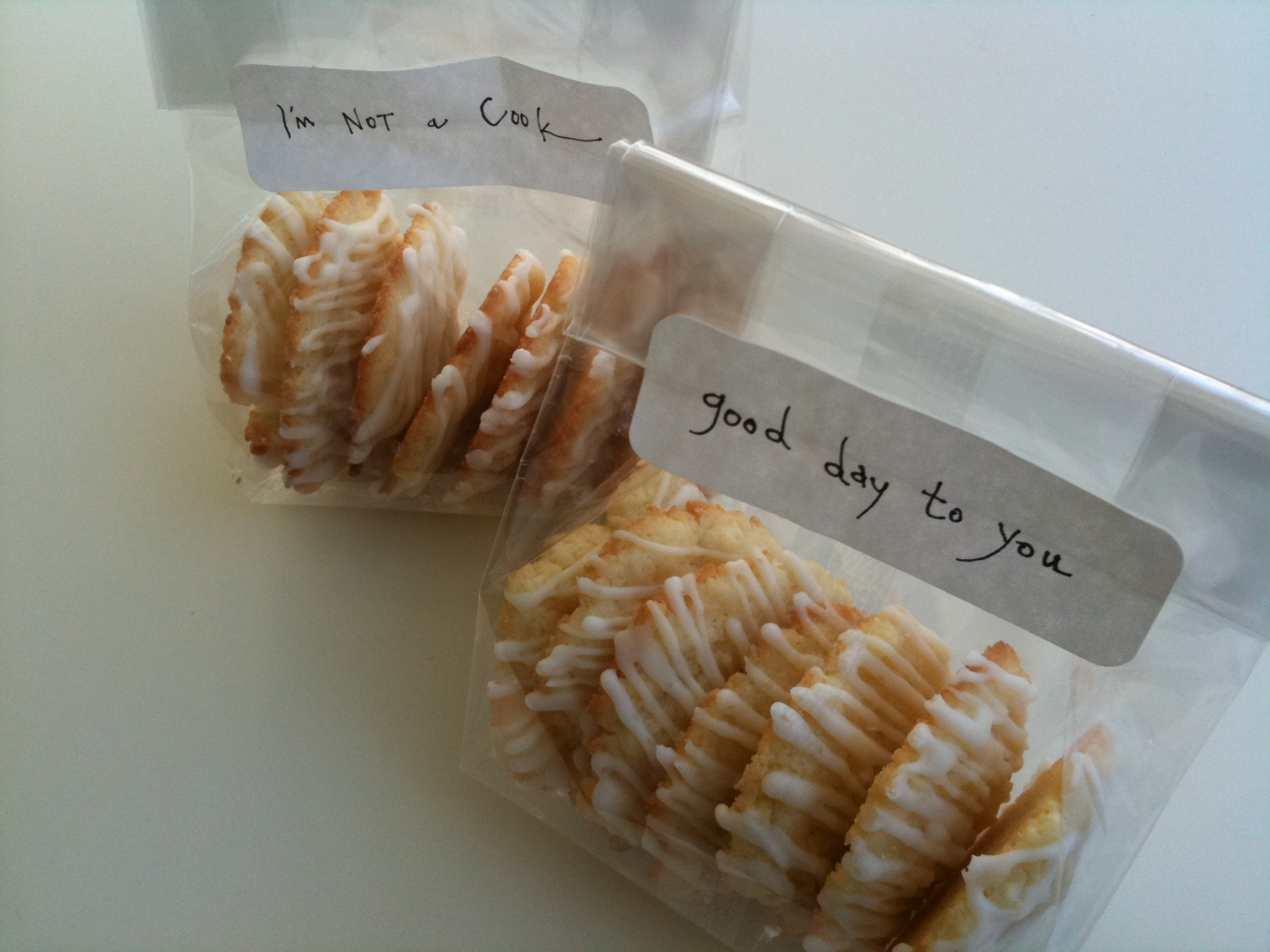 Cookies In A Bag I M Not A Cook