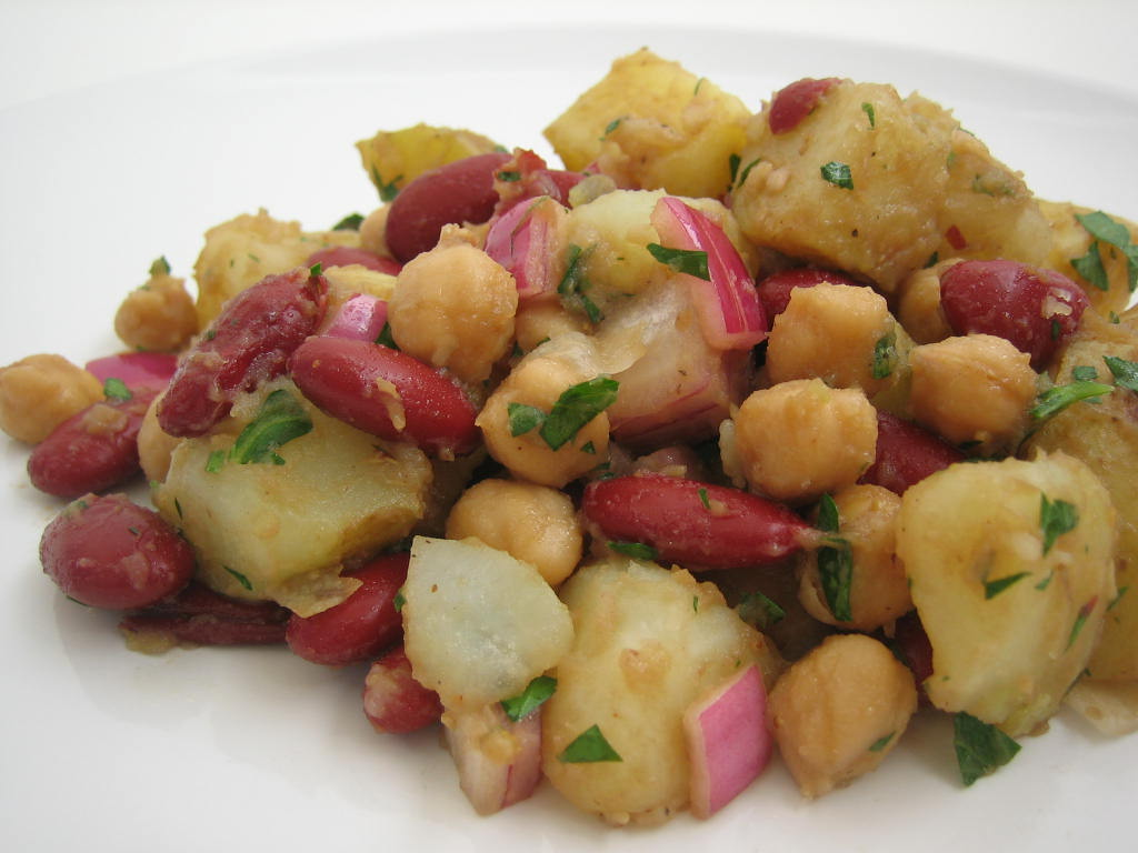 Potato And Beans Salad I M Not A Cook