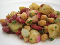 Potato Bean Salad