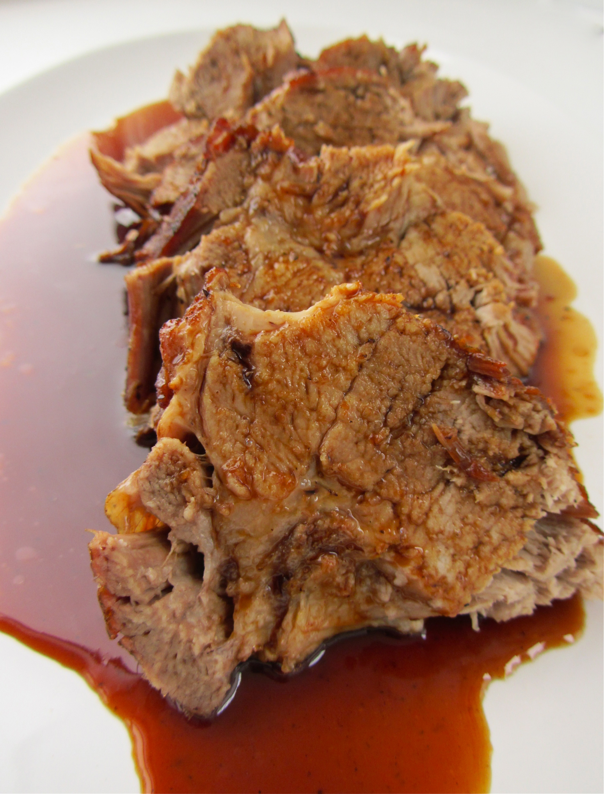 Glenn's Marinated Pork Shoulder Recipe — Dishmaps