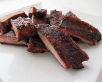 Dry Rubbed BBQ Pork Ribs