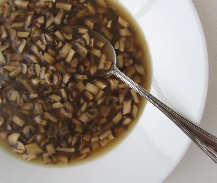 Cremini Mushroom Soup