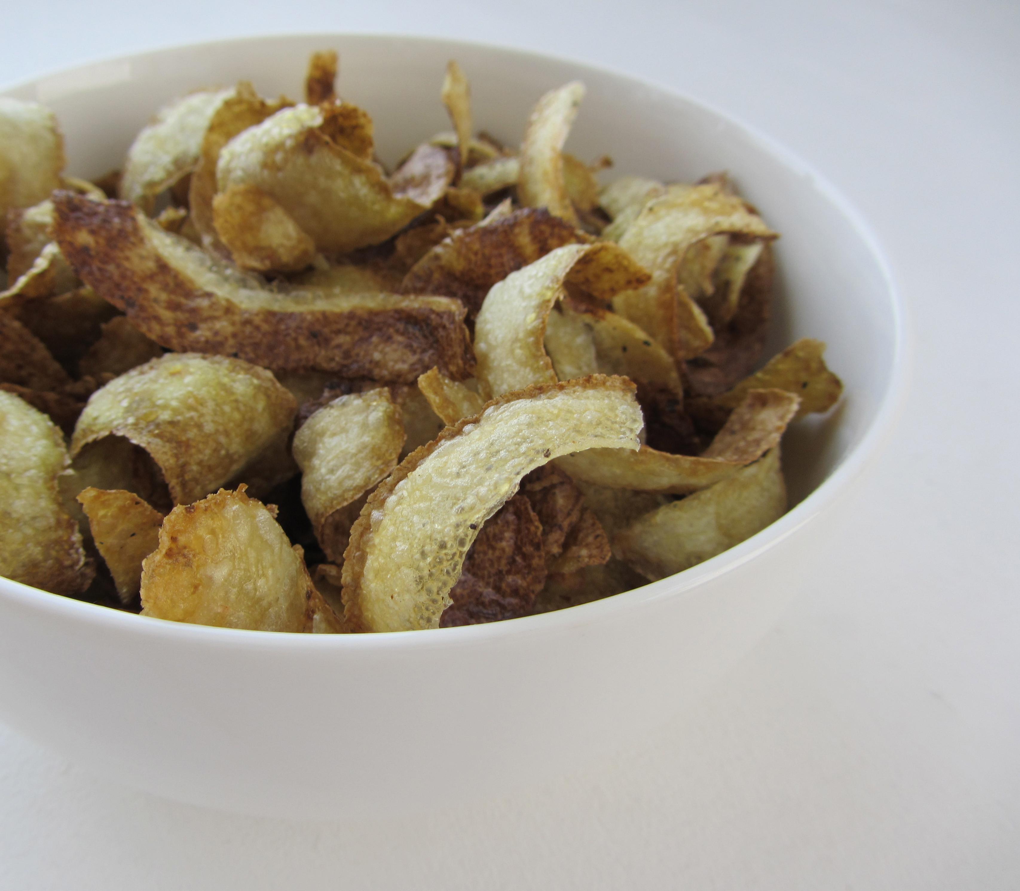 How to make potato skin fries
