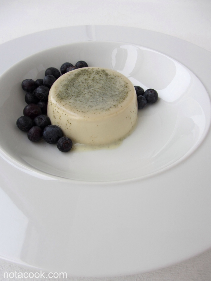 Sencha Green Tea Panna Cotta