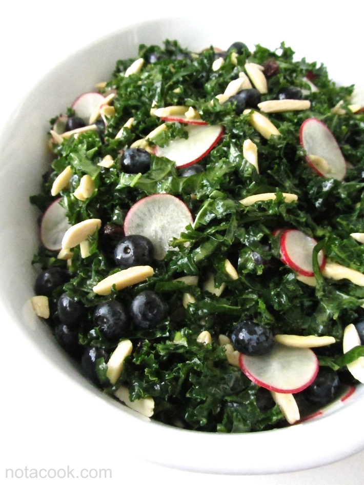 Kale Ribbon Salad