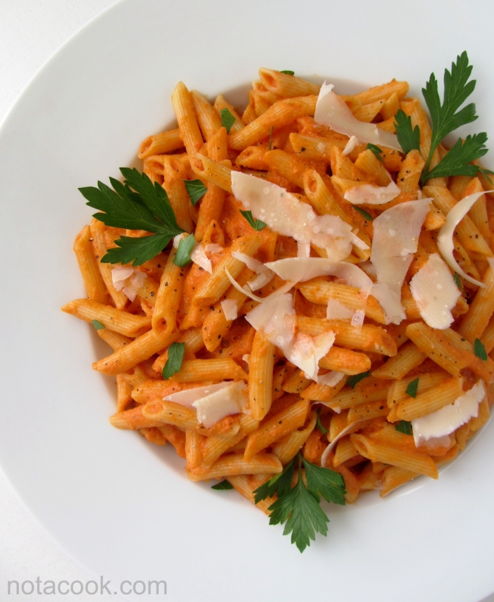 Penne in Vodka Sauce